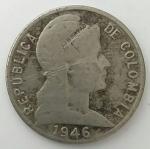 monedas del Mundo : America : Colombia :  1946 - 5 centavos