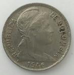 monedas del Mundo : America : Colombia :  1946 - 2 centavos