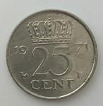 monedas del Mundo : Europa : Islandia :  1971 - 25 cent