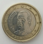 monedas del Mundo : Europa : España :  2006 - 1 Euro