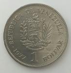 monedas del Mundo : America : Colombia :  1977 - 1 Bolívar
