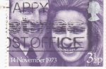 Stamps United Kingdom -  BODA PRINCESA ANA- MARK PHILLIPS