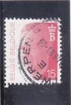 Stamps : Europe : Belgium :  REY BALDUINO