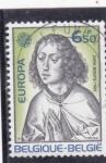 Stamps Belgium -  EUROPA CEPT- DIRK BOUTS