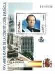 Sellos del Mundo : Europa : España : Edifil SH4038 XXV Aniversario Constitución Española 0,26 hojita NUEVO