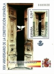Sellos del Mundo : Europa : España : Edifil SH4039 XXV Aniversario Constitución Española 0,26 hojita NUEVO