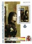 Sellos del Mundo : Europa : España : Edifil SH4041 XXV Aniversario Constitución Española 0,26 hojita NUEVO