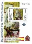 Sellos del Mundo : Europa : España : Edifil SH4044 XXV Aniversario Constitución Española 0,26 hojita NUEVO