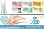 Stamps : Europe : Spain :  Edifil 2860C V Centenario descubrimiendo de América carné 7/12/17/30/35/45 NUEVO