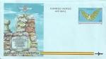Stamps Spain -  Edifil Aerograma 218 Intento de vuelo de Diego Marín Aguilera 65 NUEVO