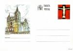 Stamps : Europe : Spain :  Tarjeta Entero Postal Edifil T156 Catedral de León 28 NUEVO