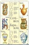 Stamps : Europe : Spain :  Edifil 2891-2896 Artesanía española cerámica 7/14/19/32/40/48 en bloque NUEVO