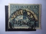 Stamps South Africa -  Mina de Oro - Minería.