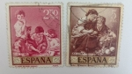 Stamps Spain -  Pintor Murillo