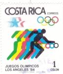 Stamps Costa Rica -  JUEGOS OLIMPICOS LOS ANGELES'84