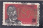 Stamps : America : Cuba :  XV CONGRESO UPU - VON STEPHAN