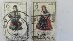 Stamps Spain -  Trajes Regionales de España