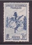 Sellos de Africa - Mauritania -  Danza ritual