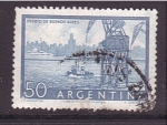 Stamps Argentina -  Grúa