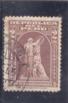 Stamps : America : Peru :  PRO-DESOCUPADOS