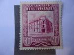 Stamps Venezuela -  Oficinas principales de Correo en Caracas-1953
