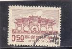 Stamps : Asia : China :  CONSTRUCCIÓN TÍPICA