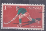Stamps Spain -  HOCKEY SOBRE PATINES (35)