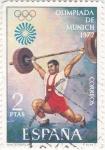 Stamps : Europe : Spain :  OLIMPIADA MUNICH-72(35)