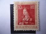 Stamps : America : Venezuela :  Isabel la Catolica - Reina de Castilla - V Centenario de su Nacimiento (1451-1951) EE.UU de Venezuel