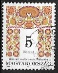 Sellos de Europa - Hungría -  Arte Folk Hungaro