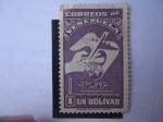 Stamps : America : Venezuela :  UPU - Union Postal Universal. 75°Aniversario (1874-1949)
