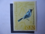 sellos de America - Venezuela -  Azulejo - Golondrina Tanager (Tersina Viridis)