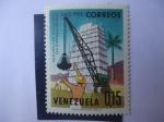 sellos de America - Venezuela -  Año Centenario del Ministerio de Fomento, 1863-1963
