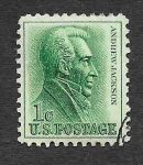 Sellos de America - Estados Unidos -  1209 - Andrew Jackson