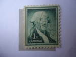Stamps : America : United_States :  George Washington (1732-1799), first president of the U.S.A