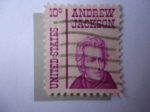 Stamps : America : United_States :  Andrew Jackson (1767-1845), seventh president of the U.S.A (1829/37)