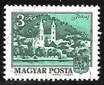 Stamps Hungary -  Tokaj