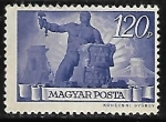 Stamps : Europe : Hungary :  Hombre con herramientas