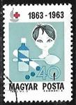 Sellos de Europa - Hungría -  Cruz Roja   Niños  
