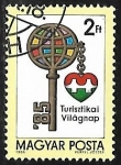 Stamps : Europe : Hungary :  Dia Mundial del Turismo