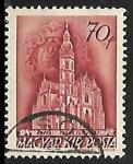 Sellos del Mundo : Europa : Hungría : Catedral de Kassa