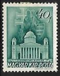 Stamps Hungary -  Basilica, Esztergom