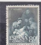 Stamps : Europe : Spain :  MISTERIOS DEL ROSARIO (Murillo)(35)