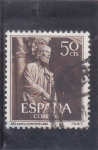 Stamps Spain -  AÑO SANTO COMPOSTELANO    (35)
