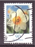 Stamps Germany -  serie- Flores