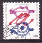 Stamps of the world : Germany :  wort-schrift-bild