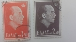 Stamps Greece -  Rey