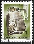 Stamps : Europe : Hungary :  Introduccion del sistema métrico en Hungria