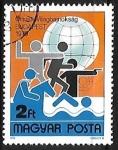 Sellos de Europa - Hungría -  Campeonato mundial de Pentathlon - Budapest