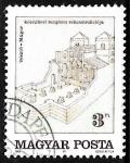 Sellos del Mundo : Europa : Hungría : Reconstruccion de la Iglesia Medieval en Vésztő-Mágor
